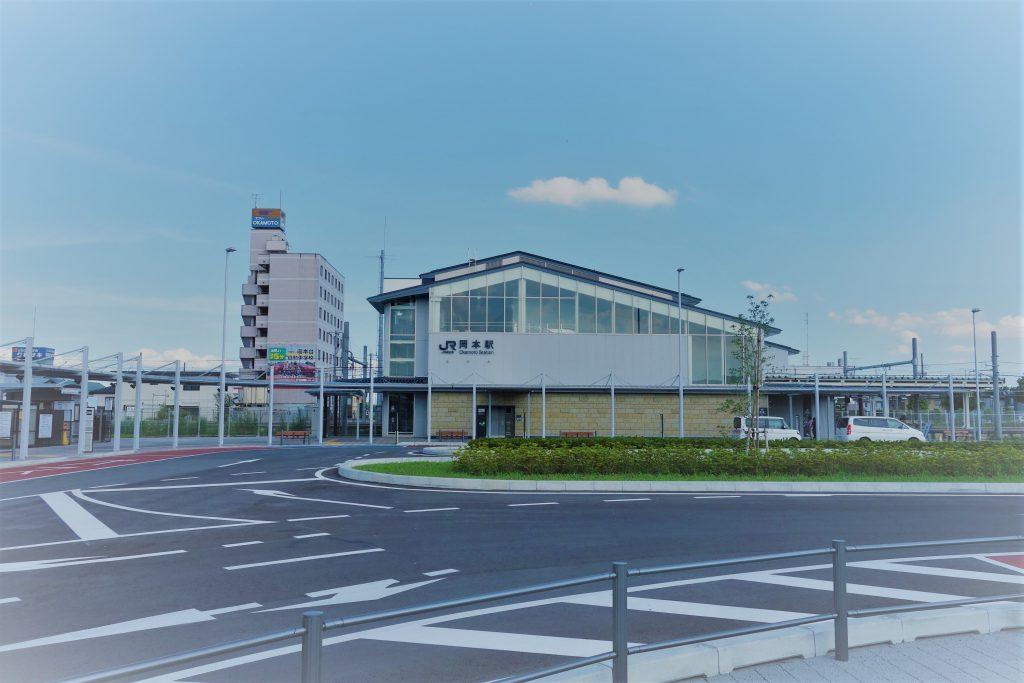 JR岡本駅2